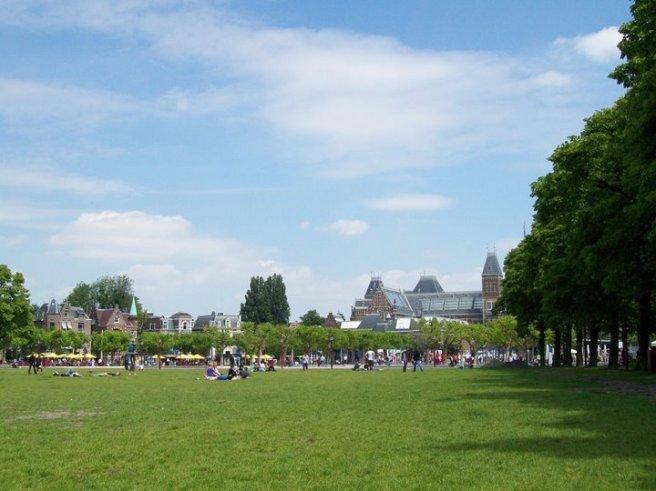 Park at Van Gogh Museum